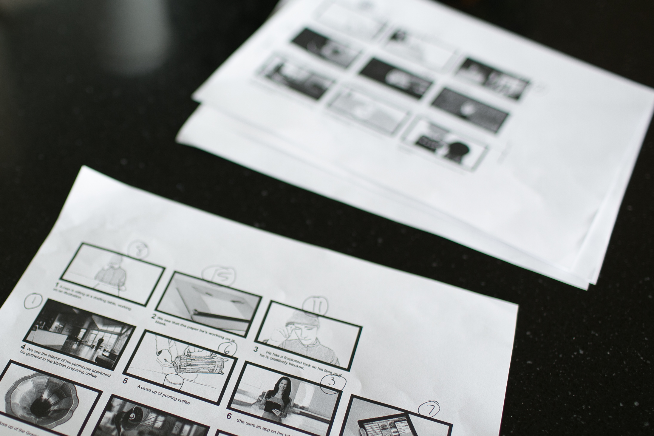 Video Production Storyboards
